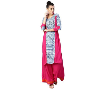 Special Pure Cotton Printed Palazzo Suit