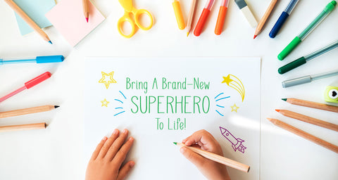Bring A Brand-New Superhero To Life!