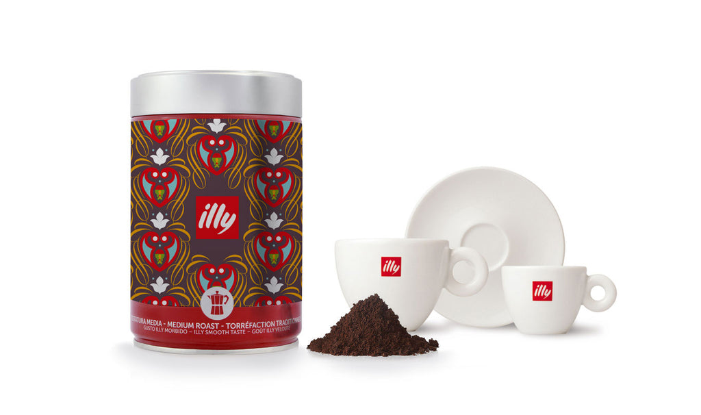The Pattern Tales designs an exclusive pattern for the Italian coffee brand, illy