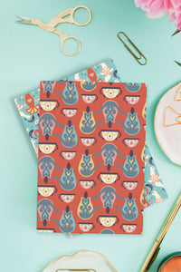 Alice in Wonderland limited-edition notebooks. Designed by Chiara Aliotta.