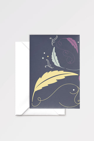 Paper and Ink: limited edition greeting card designed by Chiara Aliotta