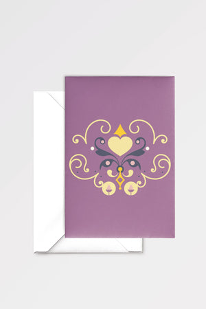Lovers' Vow: limited edition greeting card designed by Chiara Aliotta