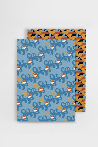 Set of notebooks inspired by Odyssey