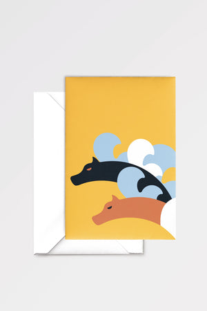 Scylla: limited edition greeting card designed by Chiara Aliotta