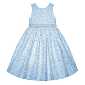 Ice Blue Sleeveless Dress