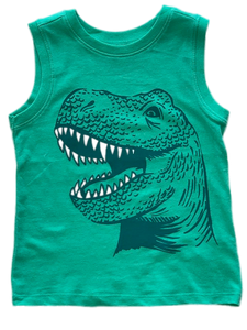 Boy's Dinosaur Tank Top