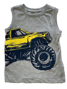 Big Wheel Gray Tank Top