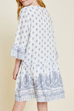Load image into Gallery viewer, Paisley Bell Sleeve Dress