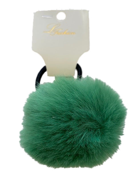Forest Green Large Pom