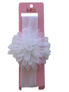 Headband with Lace Flower
