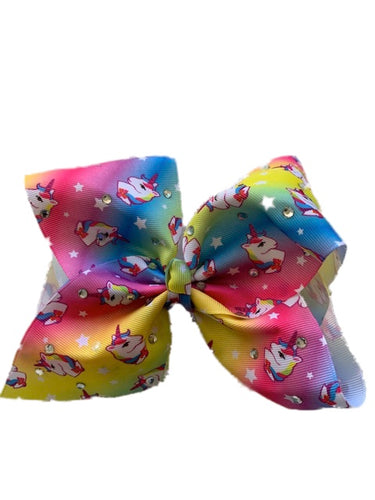 Unicorn Sparkle Bow
