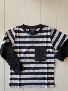 Boy's Striped Long Sleeve Shirt