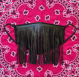 Black Fringe Mask
