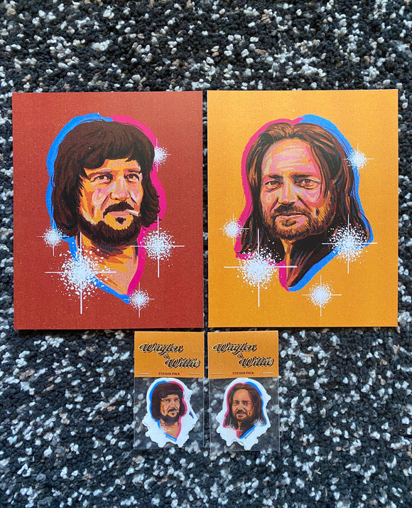 'Waylon & Willie' Bundle