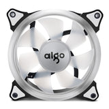 Aigo Halo Ring Ice Blue LED 120mm 12cm PC Computer Case Cooling Neon Quite Clear Fan Mod 4 Pin/3 Pin