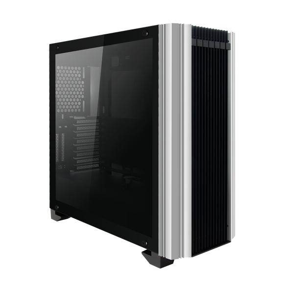 darkFlash Darwin ATX Mid-Tower Desktop Computer Gaming Case USB 3.0 Ports Tempered Glass Windows