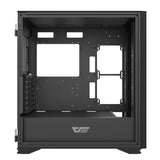 darkFlash DLX21 MESH Black ATX Computer Case with Graphics card holder & Mesh Front Panel