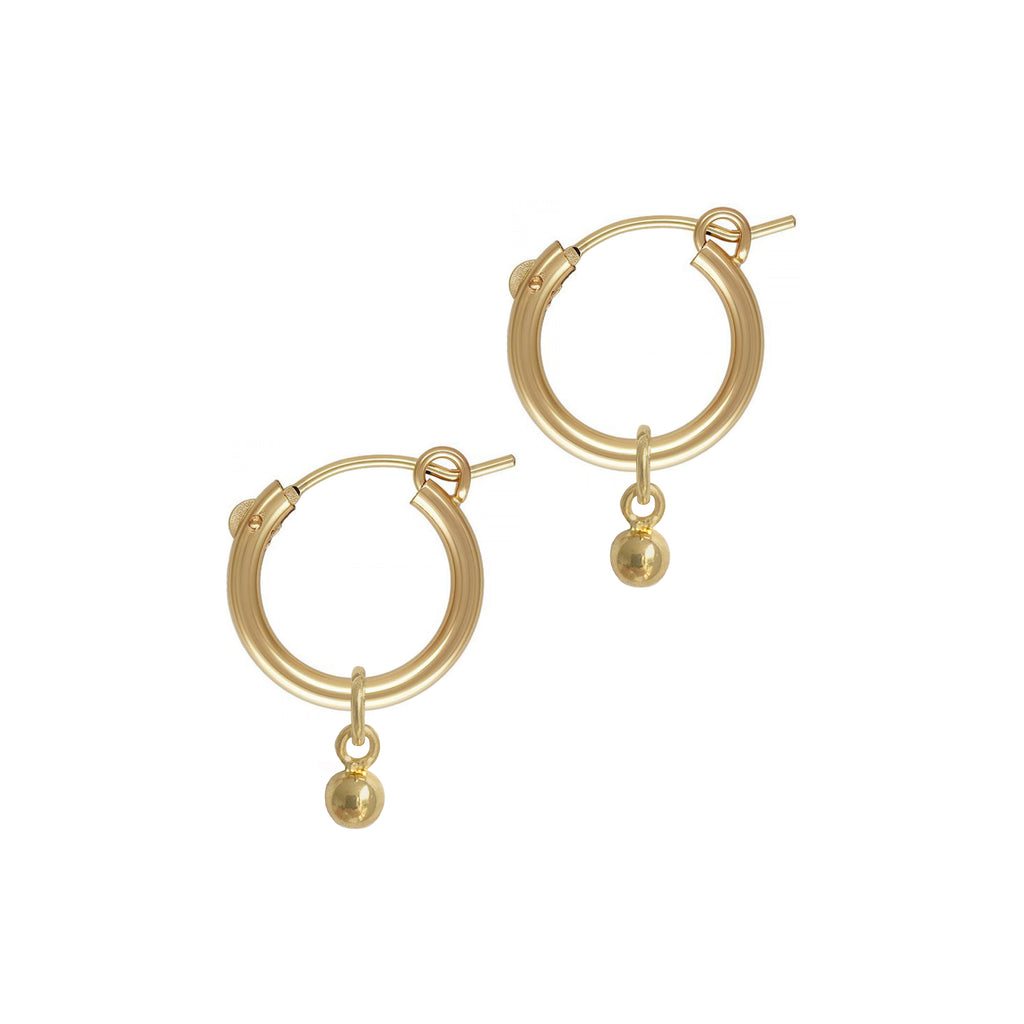 BALL HOOP 15mm • 14K GOLD-FILLED