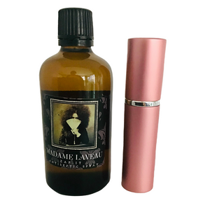 Madame's Zap-It Antiseptic Spray Atomiser with Refill