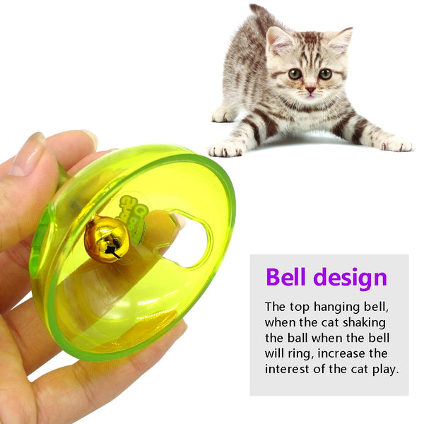 Interactive Smart Pet Toy Food Dispenser For Cats