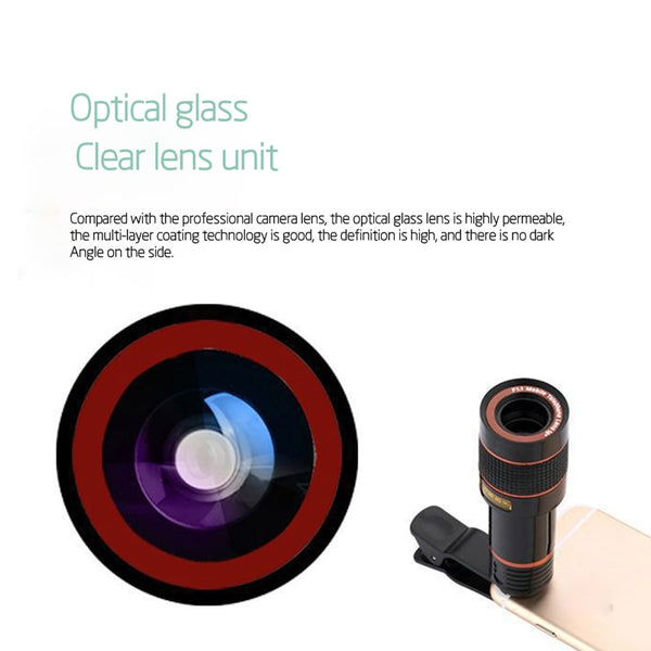 12x Optical Zoom For Mobile
