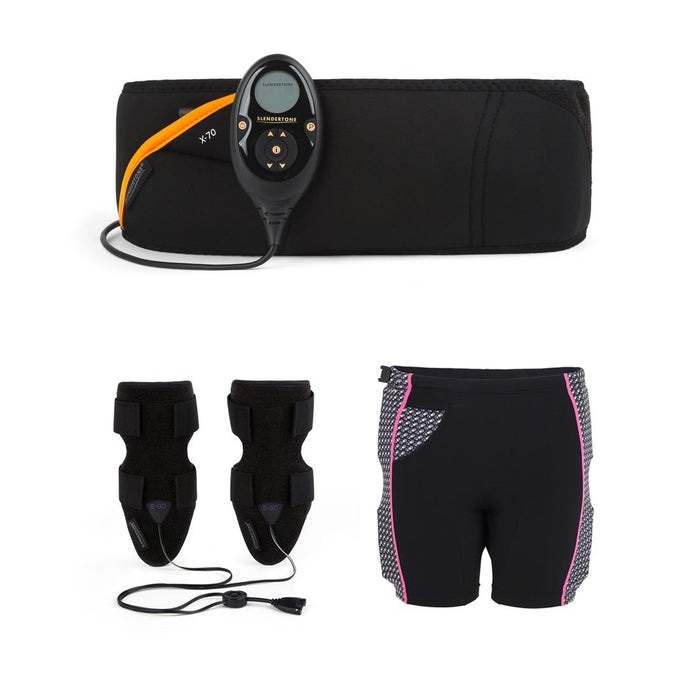 Slendertone Women's Ultimate Toning Bundle (Abs7 Toning Belt + Bottom Toner + Arm's Toner)
