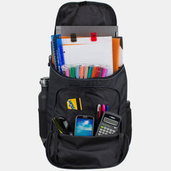 Fuel Wide Mouth Sports Backpack with Laptop Compartment with Bungee