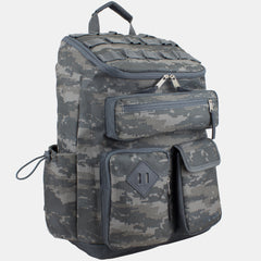 Fuel Multi-Pocket Cargo Backpack with High Capacity Top-Loader Entry