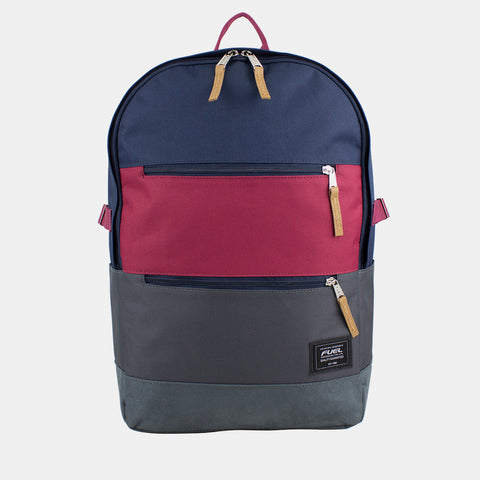 Fuel Downtown School Backpack with Multiple Pockets