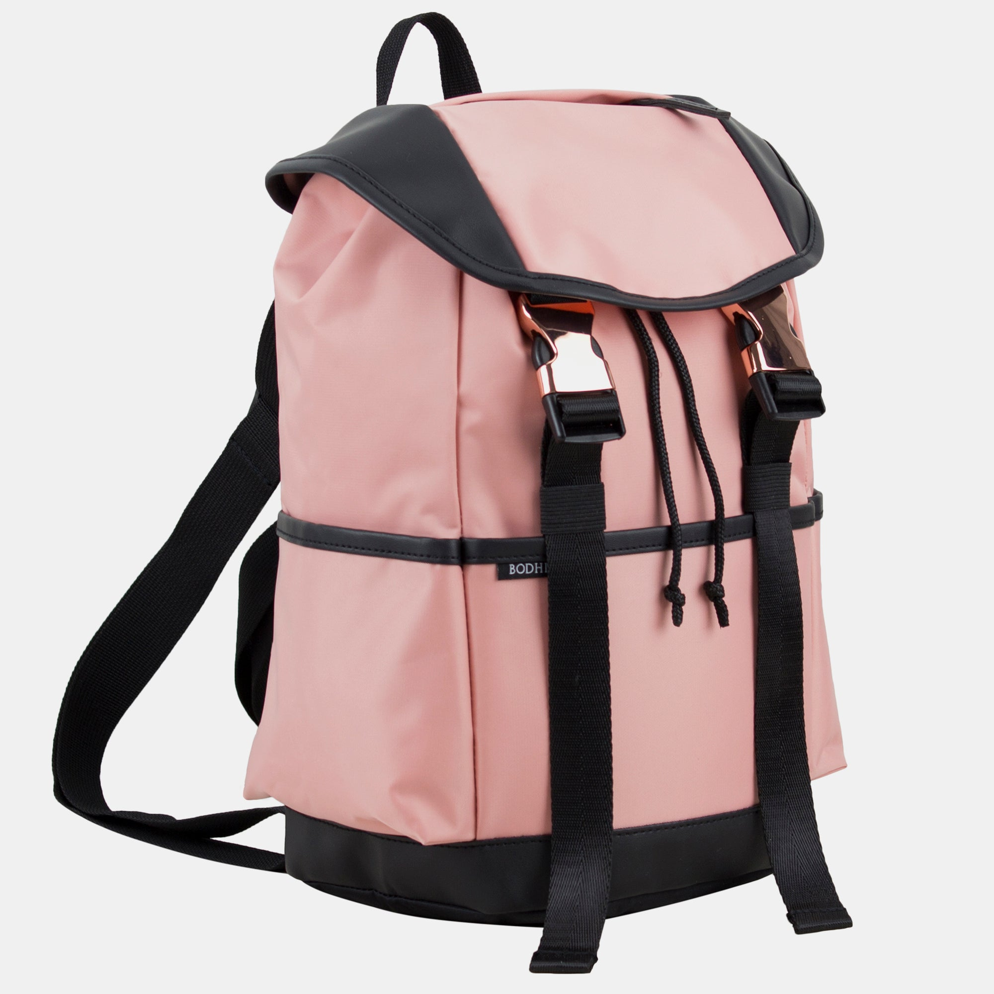 Fuel Drawstring Backpack With Double Rose Gold Buckles