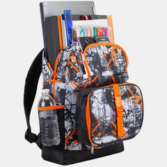 Fuel Everyday 4-Piece Combo Backpack with Lunch Box, Pencil Case and Shoe Pouch