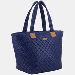 BODHI Quilted Luxe Top Handles Tote