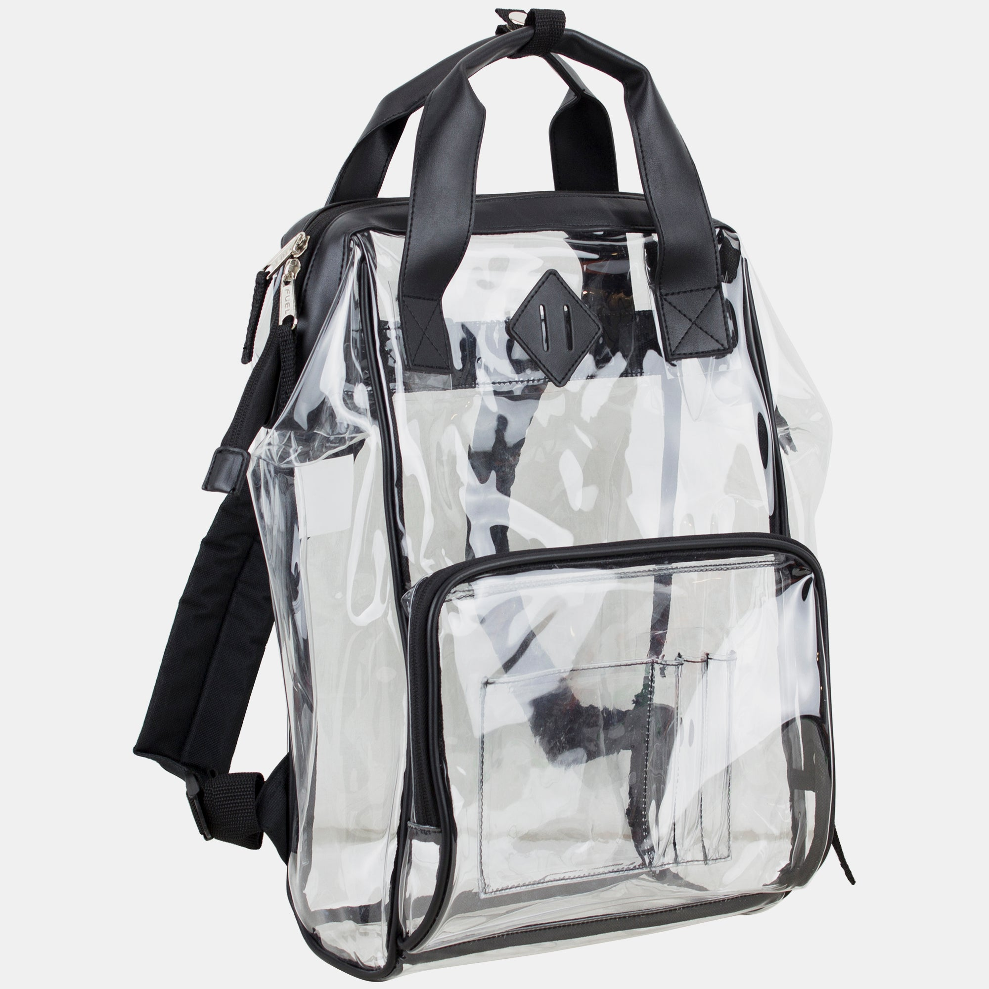 Fuel Clear Stadium Bag Collection - Fully Transparent Bag