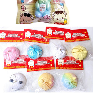 Bunny's Cafe Mini Kumatan Steam Bun Squishy