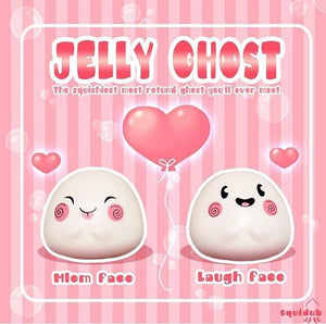 Squidub Jelly Ghost Halloween Squishy - Bunnifulwishes