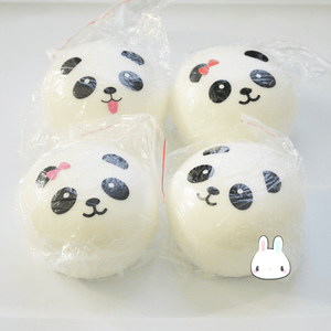 Large Panda Bun Squishy - Bunnifulwishes