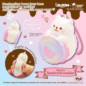 iBloom Pearl Aurora Marmo Ice Cream Sandwich Cookie Squishy
