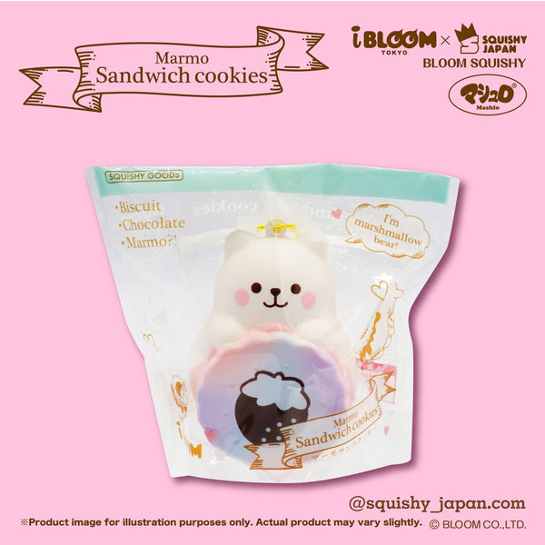 iBloom Aurora Marmo Ice Cream Sandwich Cookie Squishy