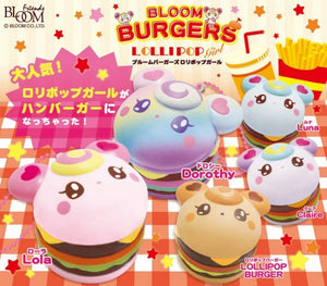 iBloom Lollipop Girl Burger Squishy