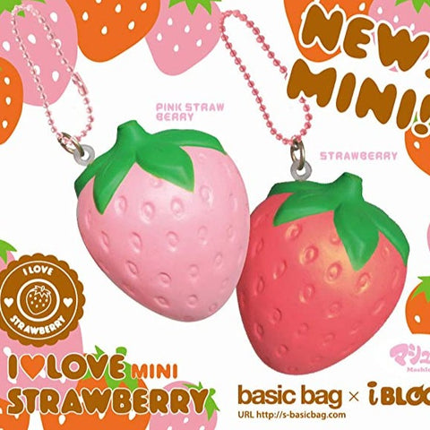 iBloom Mini I Love Strawberry Squishy