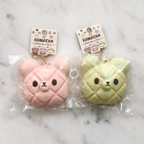 Bunny's Cafe Kumatan Mini Melonpan Squishy