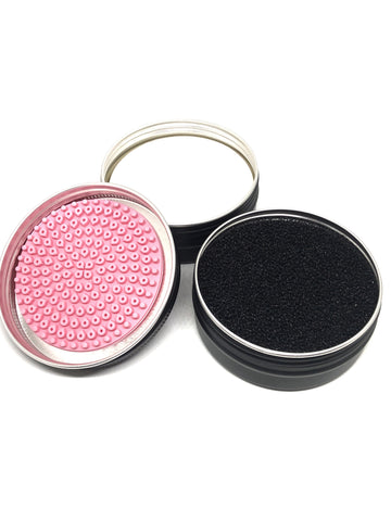Brush Cleaning Sponge & Soap