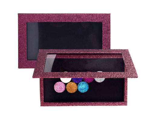 Glitter Magnetic Eyeshadow Case