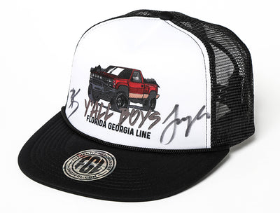 Autographed Florida Georgia Line Brian's Y'all Boys Foamie Hat