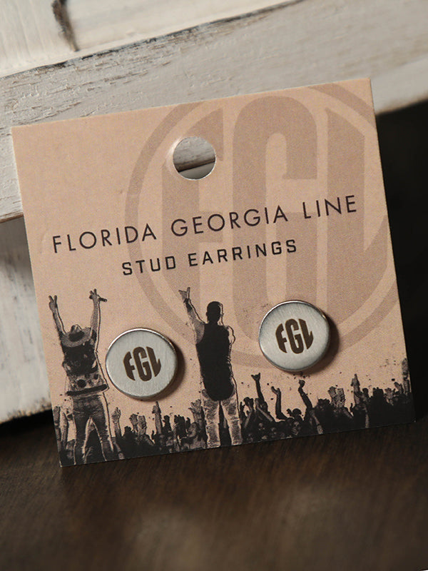 Florida Georgia Line Stud Earrings