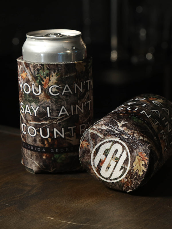 Florida Georgia Line Camo Can Koozie