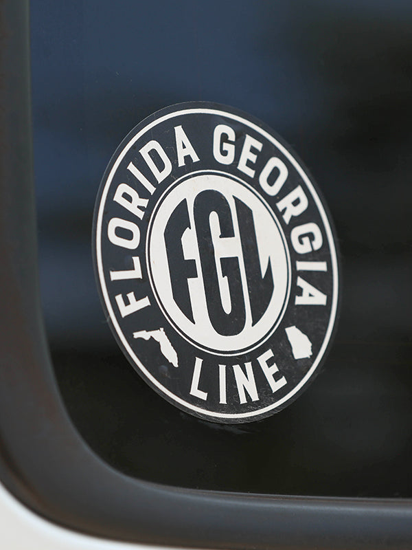 Florida Georgia Line Logo Decal