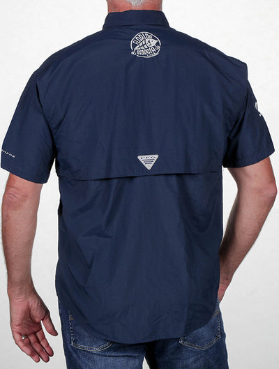 Florida Georgia Line Columbia Fishing Shirts (Short Sleeve) Collegiate Navy