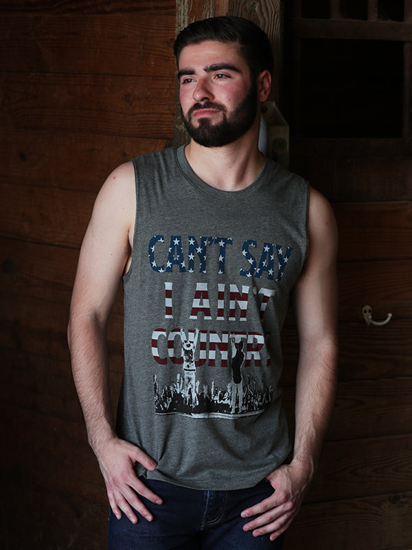 Florida Georgia Line Men's American Country Muscle Tank