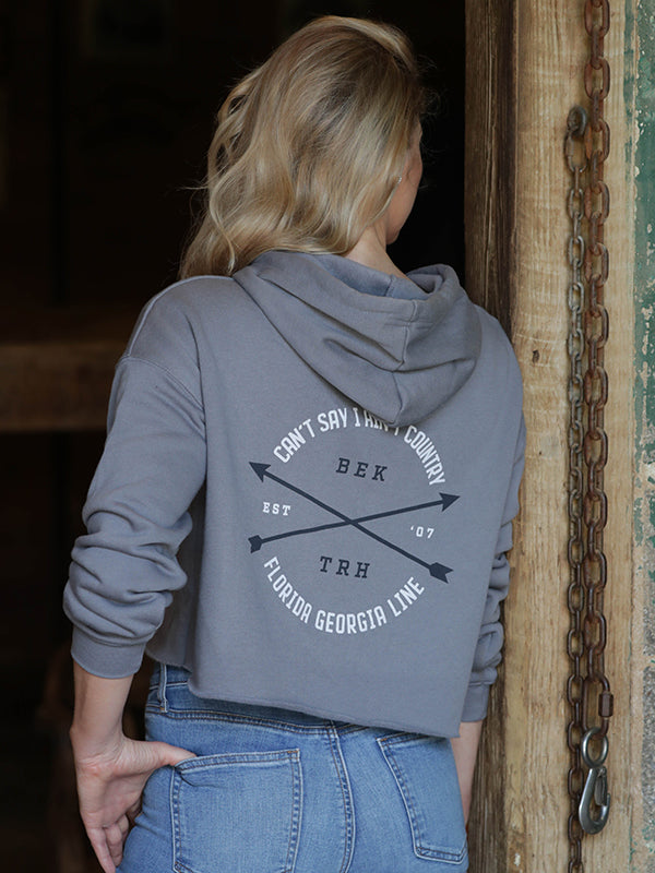 Florida Georgia Line Ladies Cropped Tribe Hoodie